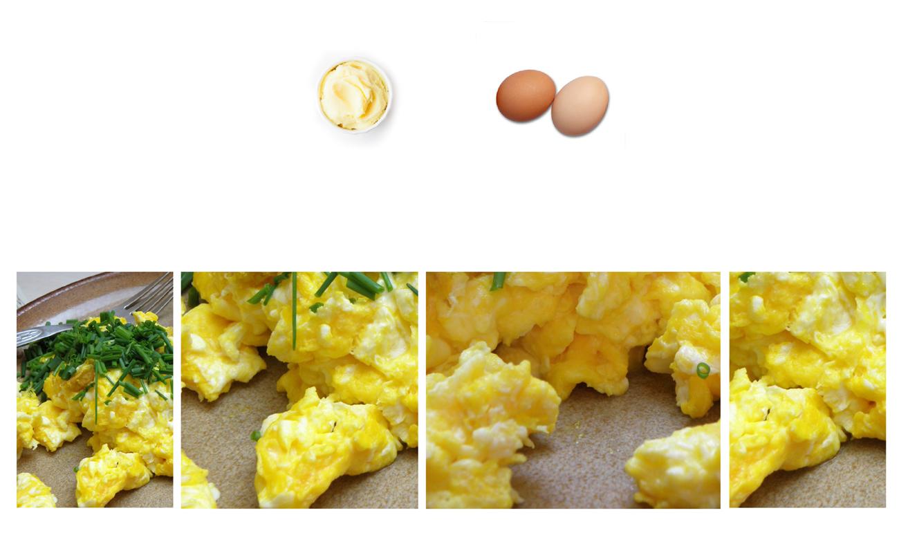 scrambled eggs keto recipe